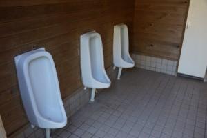 竜天天文台公園キャンプ場 トイレ