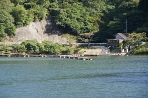 佐仲ダム釣り場