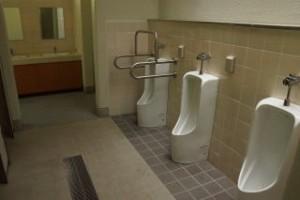 ひろしま県民の森第1キャンプ場トイレ