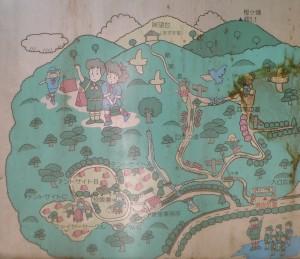 社家郷山キャンプ場 現地案内図