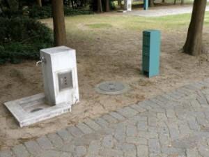 赤穂海浜公園キャンプ場AC電源