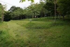 大芦高原キャンプ場 オートサイト