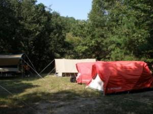 甲山キャンプ場 リバーサイト