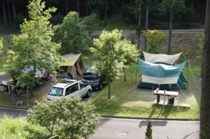 東山オートキャンプ場オートサイト