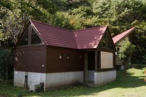 勝山美しい森 トイレ棟