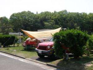 小豆島ふるさと村キャンプ場オートサイト