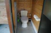 としおじさんのキャンプ場トイレ