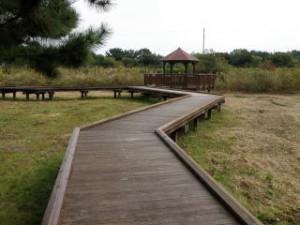 赤穂海浜公園散策デッキ