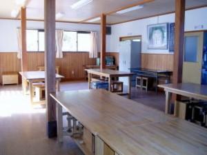 和気美しい森ビジターセンター作業室
