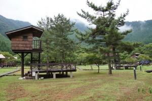 長林キャンプ場 ツリーハウス