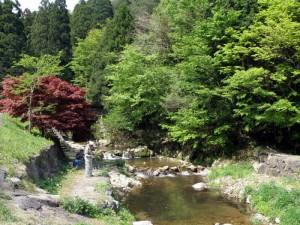 トムソーヤ冒険村 釣り風景