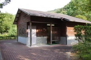 日時計の丘公園トイレ棟