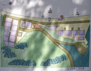 太鼓の鼻オートキャンプ場現地図