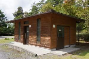 望ヶ丘キャンプ場トイレ