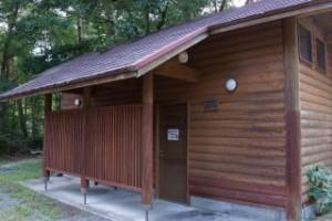 黒木第1キャンプ場 シャワー棟