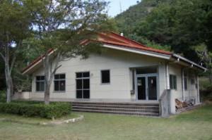 古法華自然公園キャンプ場 管理棟