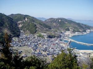 北木島 大浦from秋葉山