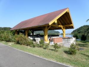 大池オートキャンプ場バーベキューハウス