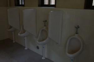 恐羅漢キャンプ場デッキサイトトイレ