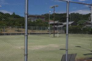 粟島海洋記念公園テニスコート