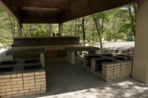 ひろしま県民の森第1キャンプ場炊事棟