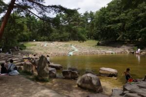 砂川公園 ウォータースライダー