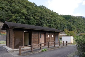 知明湖キャンプ場  トイレ棟