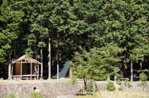 キャンプリゾート森のひとときバンガロー