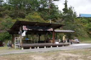 望ヶ丘キャンプ場カントリーステージ