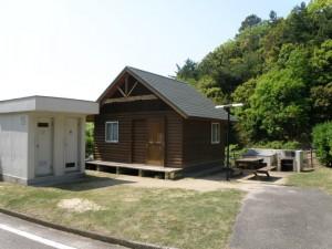 小豆島ふるさと村キャンプ場オートキャビン