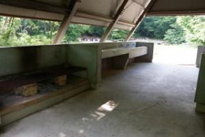 もみのき森林公園キャンプ場炊事棟