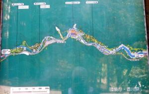 大滝山県民いこいの森キャンプ場現地図