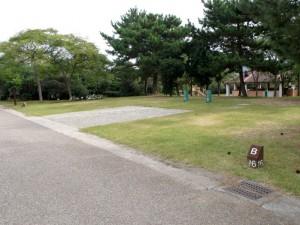 赤穂海浜公園キャンプ場ファミリーサイト
