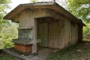 ひろしま県民の森第2キャンプ場トイレ棟