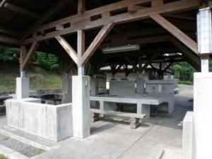 野呂山キャンプ場炊事棟