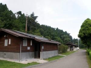 野呂山キャンプ場温水シャワー棟