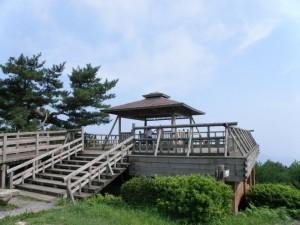野呂山かぶと岩展望台