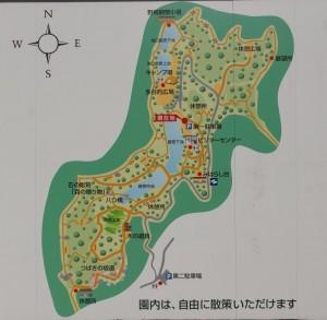 里庄美しい森現地図