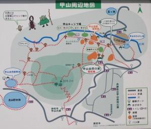 甲山周辺現地図