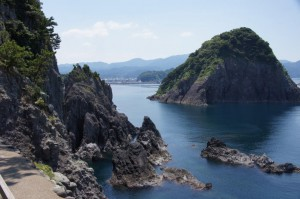 大引の鼻展望台から黒島