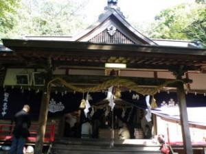 龍神社 拝殿