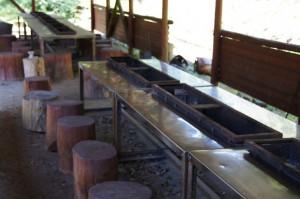 天滝公園キャンプ場 BBQ小屋