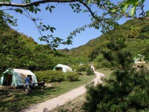 仙酔島キャンプ場