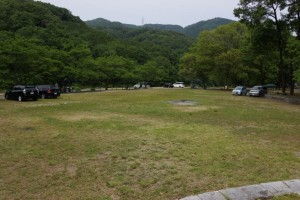 土師ダムファミリーキャンプ場 ファイヤーサークル