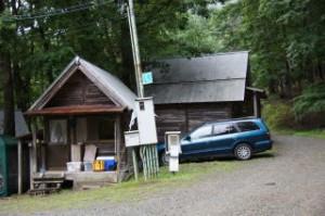 山崎アウトドアランド 山の家・シャワー室