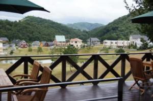 天然温泉「佐用の湯」付属カフェ