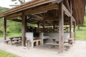 琵琶ヶ池「いこいの森」キャンプ場 炊事棟