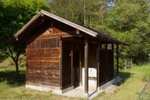 帝釈峡スコラ高原キャンプ場 トイレ棟