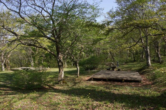 休暇村吾妻山ロッジキャンプ場