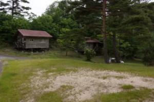 琵琶ヶ池「いこいの森」キャンプ場 キャンプサイト・バンガロー